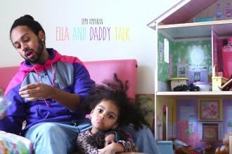 Poster for ella daddy talk